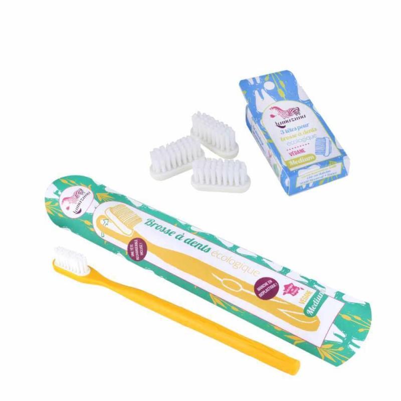 1 an de brosse à dents à tête rechargeable