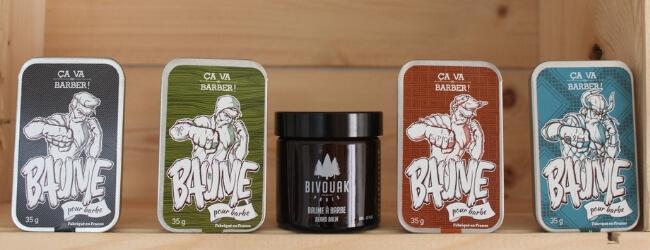 Baumes à barbe bio et naturels fabriqués en France