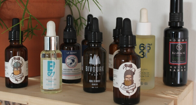 Huiles à barbe bio et naturelles made in France