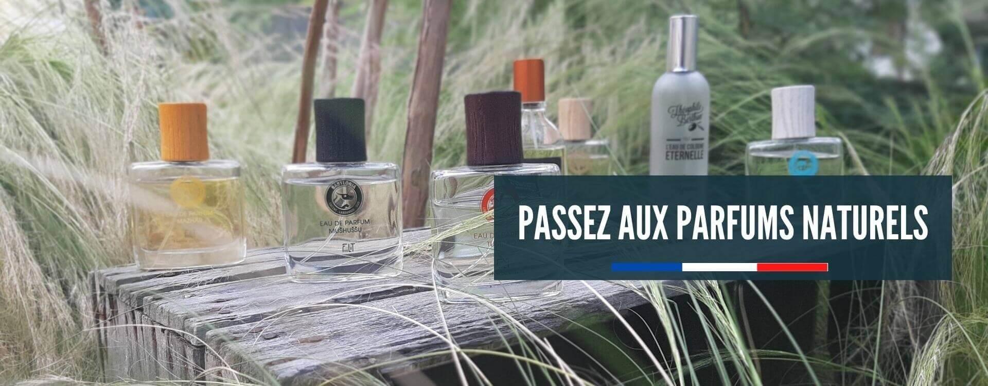Parfums naturels fabriqués en France